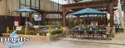 Pools in Home and Garden Show 2012