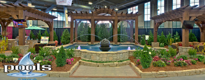 Pools in Home and Garden Show 2013